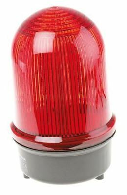 LED, Steady Beacon 280 Series, Red, Surface Mount, 230 V ac