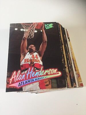 LOT 56 CARTES DE BASKET NBA Fleer Ultra  1996-1997 96-97 - Regular - No Double