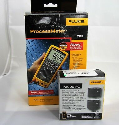 Fluke 789 ProcessMeter With Fluke IR3000 FC Connector