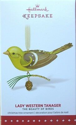 Hallmark 2015 Lady Western Tanager limited edition