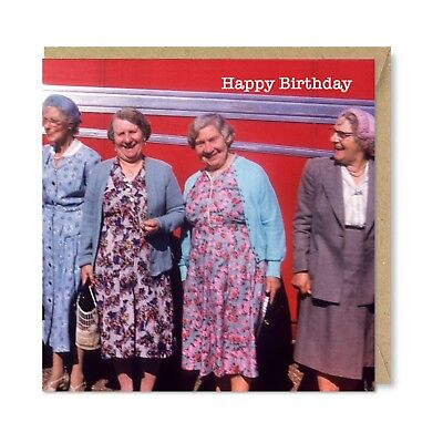 Funny Unique Vintage Retro Birthday Card Gift