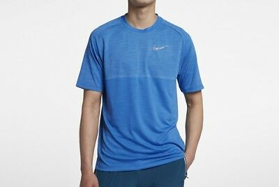 Men/'s Nike Dri-FIT Medalist Short-Sleeve Running Top Size LARGE 891426 317 NWT