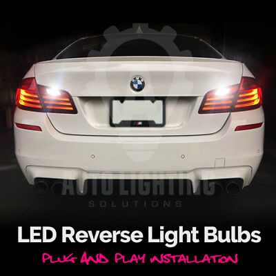 For BMW 5 Series F10 F11 2010-2016 Xenon White LED Reverse Light Bulb *SALE*