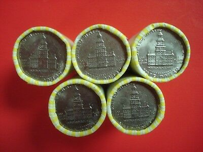 Half Dollar Roll Unsearched Bank Sealed 20 Coins - Showing Bicentennial -