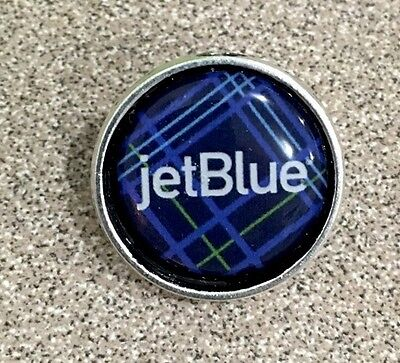 JET BLUE Pin Badge. Check My Store List.✈️✈️✈️✈️✈️✈️