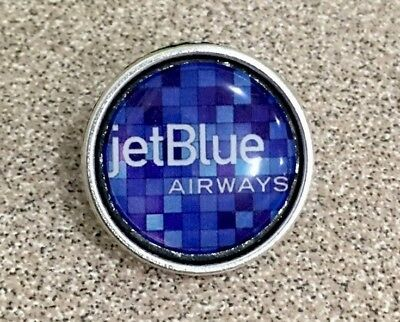 JET BLUE Airlines Pin Badge Lapel Airways✈️✈️✈️✈️✈️✈️
