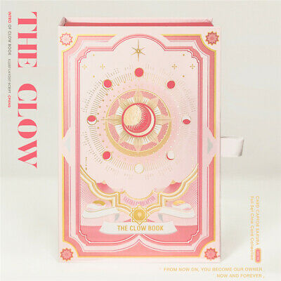 Card Captor Sakura Clow Card Clear Cards Magic Book 25Pcs Collection Gift No Box