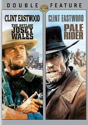 The Outlaw Josey Wales / Pale Rider - Clint Eastwood Double Feature - New