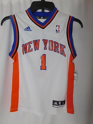 13138382013 NEW Amar'e Stoudemire New York Knicks Adidas NBA Jersey Boy Small (8)