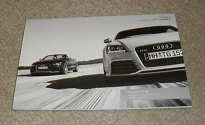 Audi TT RS Brochure 2011 - 2.5 TFSI Coupe & Roadster