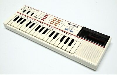 "Vintage Casio PT-82 Keyboard with ""Family Songs"""