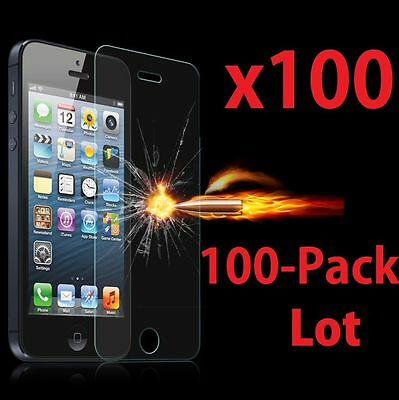 100x Wholesale a Lot of  9H Tempered Glasses Screen Protector for Apple iPhone 6