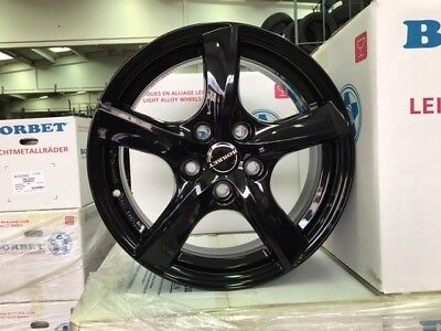 4 Roues Borbet TL5 16 pouce adaptables Ford C-MAX Focus Fusion Kuga Mondeo