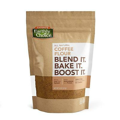 Nature's Earthly Choice Coffee Flour 227 g, Low Carb, Gluten Free, Antioxidant