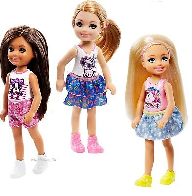 Barbie Chelsea Dolls Assortment Colourful Baby Dolls For Kid 3y+ Fast Delivery