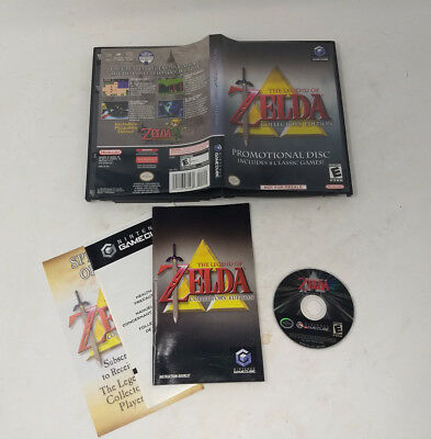 Legend of Zelda Collector's Edition (Nintendo GameCube 2003) Complete CIB