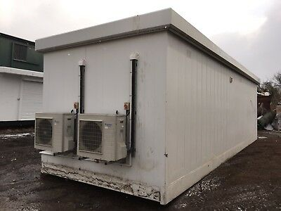 Portable Building Kiosk Site Cabin Office Air Conditioned Storage THURSTON 32ft