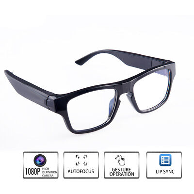 65726281d8c ViView (New Version) G50H.2018 Wi-Fi Invisible Video Record Camera Glasses  Black Touch Control -Free Your Hands - Outdoor Training Teach