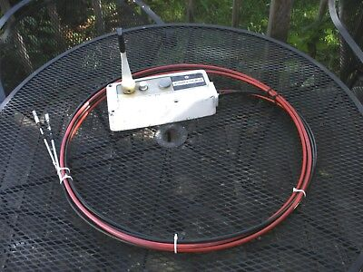 Chrysler Force Outboard Controls Control Box 16 Ft Throttle And Shift Cables