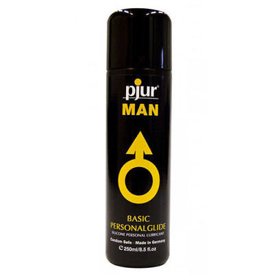 Pjur Man Basic Personal Glide Lubricant 250ml Silicone Based Lube