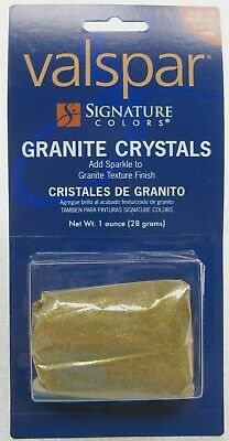 Valspar Signature Colors Gold Granite Crystals   1 Ounce Package