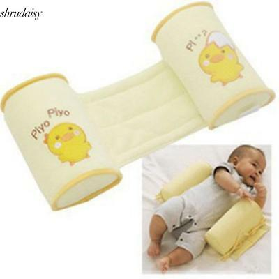Infant Toddler Baby Safe Anti Roll Cotton Pillow Sleep Flat Head S5DY 01