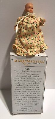 Dollhouse Miniature  Baby Doll Katie Peterson Merry Meeting 2003
