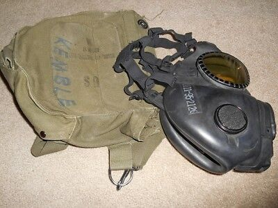 M17A1 Gas Mask with carry bag