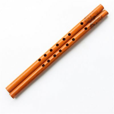 New Chinese Bamboo 6-Hole Wood Color Flute Musical Instruments Clarinet