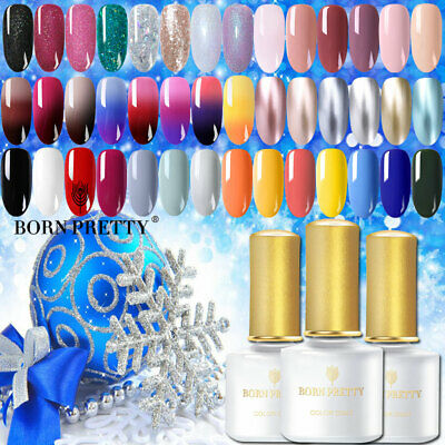BORN PRETTY 220 Couleur Nail Art  Vernis à ongles UV Gel salon de manucure 6ML