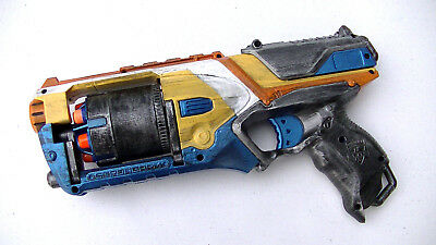 Custom Painted Modified Nerf Strongarm Gun With Darts