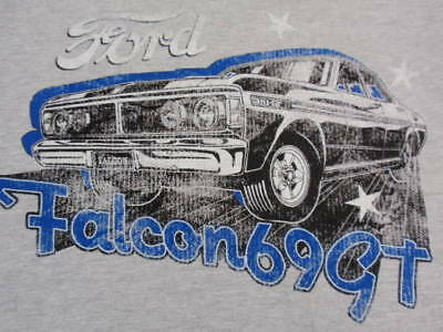 Ford Falcon 69 GT Tee Tshirt Top Size Small