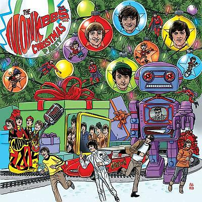 Christmas Party by The Monkees Audio CD POP 603497856657 NEW