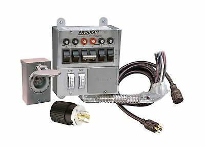 Reliance Controls Corporation 31406CRK 30 Amp 6-circuit Pro/Tran Transfer Switch