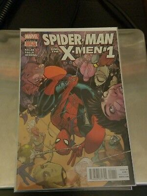Spider-Man and the X-Men #1-6 COMPLETE Kalan and Failla RUN NM/VF