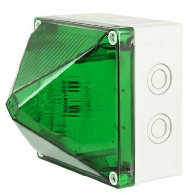 X700 Sincrono Beacon, Verde Xenon, 230 V Ac
