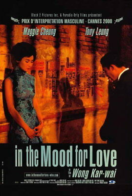 IN THE MOOD FOR LOVE Affiche Cinéma Originale ROULEE 53x40 Movie Poster