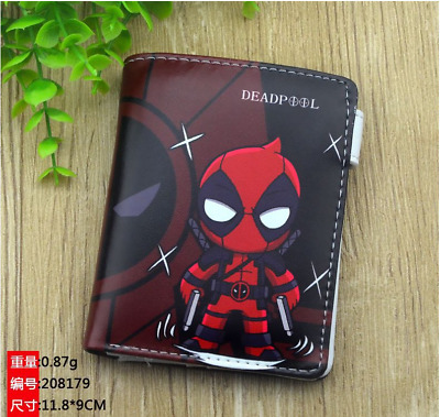 ANIME MY HERO academy Logo Wallet New Short Double fold Wallet