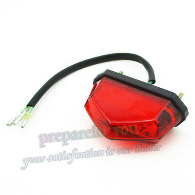 12V LED Tail Rear Brake Light For 50cc 70cc  90cc 110cc Chinese ATV Quad Motor
