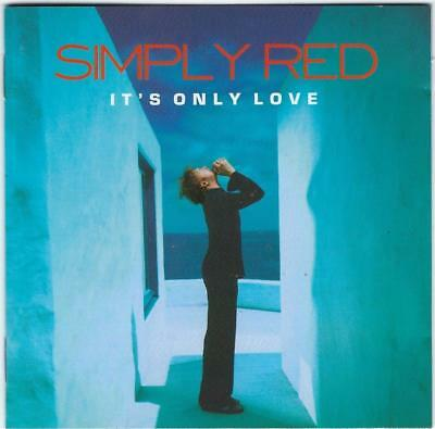 SIMPLY RED It's Only Love CD - Greatest Love Songs - Bonus Track
