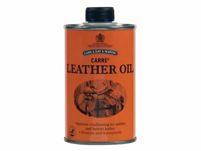 Carr & Day & Martin - Leather Oil - For all Leather Tack - 300ml -BN
