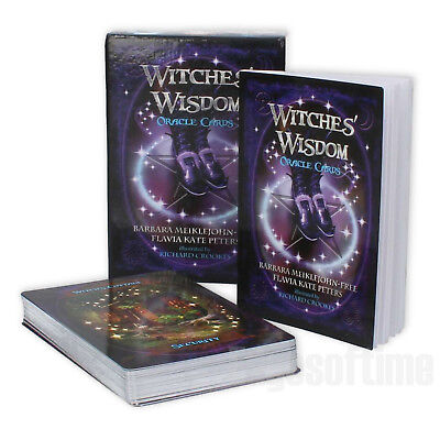 Witches Wisdom Oracle Cards Wicca Pagan Gothic Fantasy Wicca Pagan Halloween