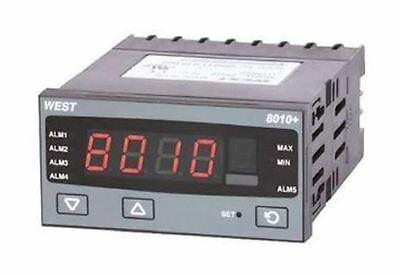 West Instruments P8010 PID Temperature Controller, 96 x 48 (1/8 DIN)mm, 1 Output