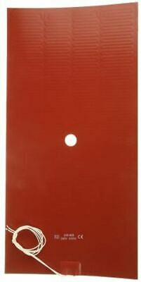 Silicone Heater Mat, 533 W, 200 x 400mm, 240 V ac