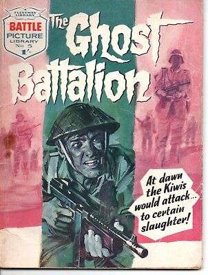 Fleetway, Battle Picture Library Comic, Issue 5, March 1961, Ghost Battalion