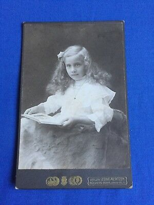 OLD ANTIQUE VINTAGE GERMAN GIRL REAL PHOTO Card Postcard