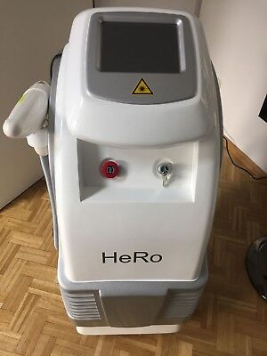 HeRo-D3+ Q-Switched Nd: YAG-Laser / Tattooentfernung / Faltenglättung / fast neu