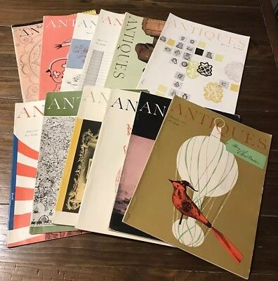 The Magazine ANTIQUES Lot of 12 Vols. 1960 January-December