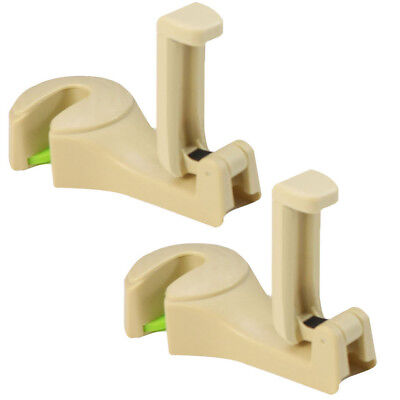 2Pcs 2 in 1 Auto Car Back Seat Phone Holder Stand Headrest Hanger Hook Clip