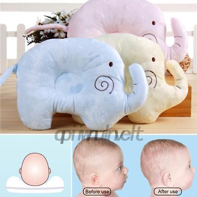 Infant Baby Kids Pillow For Newborn Elephant Shape Prevent Flat Head Support Pad